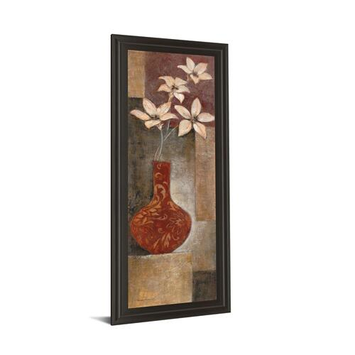 """Baroque Floral I"" By Rosie Abrahams Framed Print Wall Art"
