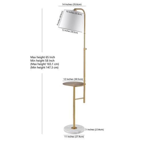 Sorsi Floor Lamp - Brass Gold