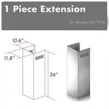 """See Details - ZLINE 2-36"""" Chimney Extensions for 10 ft. to 12 ft. Ceilings (2PCEXT-KN)"""