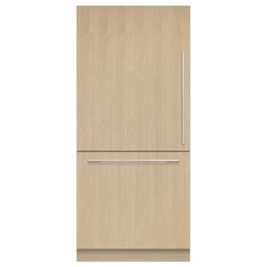 "Fisher & PaykelIntegrated Refrigerator Freezer, 36"", Ice"