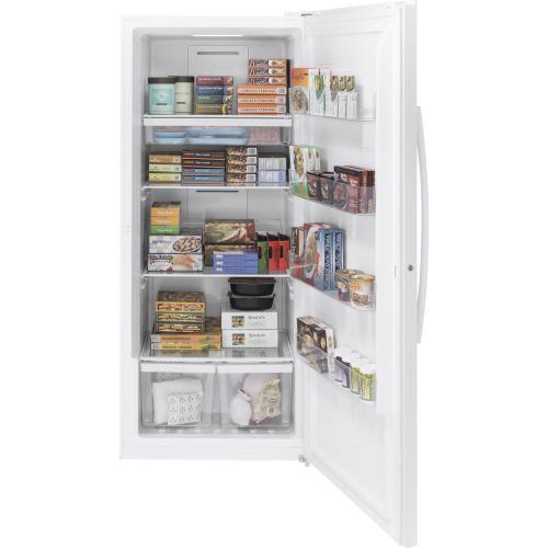 GE Appliances Canada - GE 21.3 Cu. Ft. Frost Free Upright Freezer White FUF21DLRWW