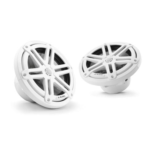 JL Audio - 7.7-inch (196 mm) Marine Coaxial Speakers, White Sport Grilles
