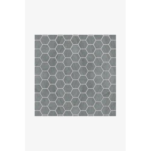 Luminaire 3cm Hexagon Mosaic in Ming Green