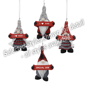 Ornament - Wyatt