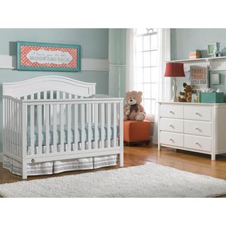 Fisher-Price Aubree Convertible Crib, Snow White