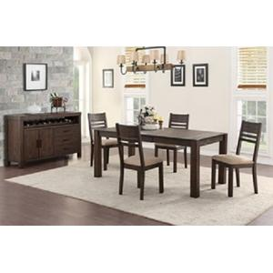 Cambridge 5 Piece Dining Set, Dark Mocha 1106-dining-ladder-5pc-k