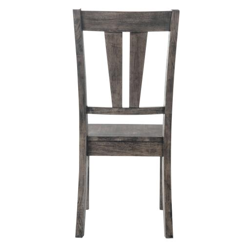 Nathan Fan Back Chair w. Wooden Seat