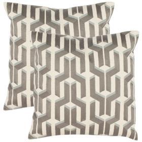 Texola Pillow - Silver / Blue