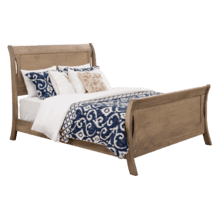 Transitions Sleigh Bed Queen