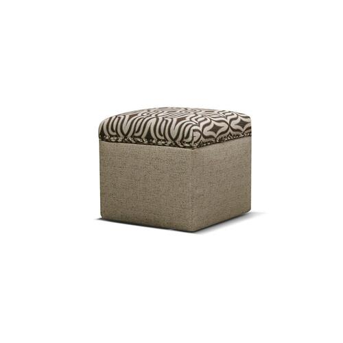 V2F081N Storage Ottoman with Nails