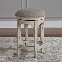 See Details - Console Swivel Stool