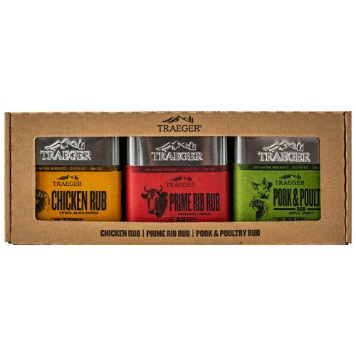 Traeger Ultimate Seasoning 3 Pack