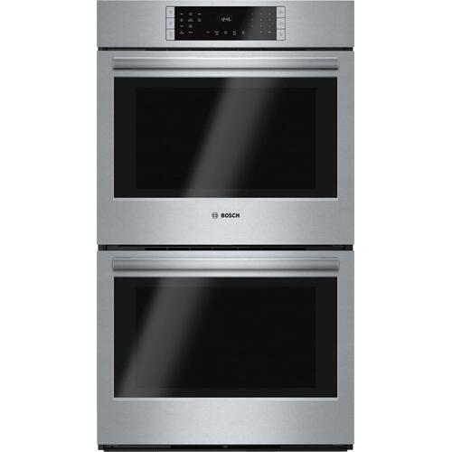 "800 Series, 30"", Double Wall Oven, SS, EU conv./Thermal, Touch Control ""OUT OF BOX"""