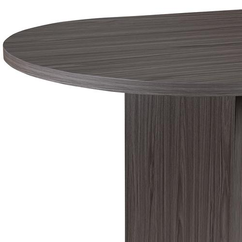 Gallery - 6 Foot (72 inch) Oval Conference Table in Rustic Gray