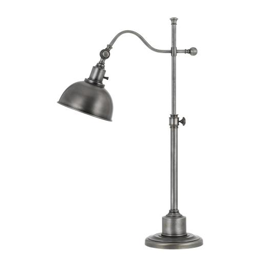 60W Portico Metal Adjust Able Table Lamp With Metal Shade