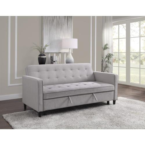 Convertible Studio Sofa with Pull-out Bed