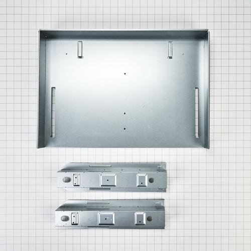 Over-The-Range Microwave Trim Kit, Anti-Fingerprint Stainless Steel - Fingerprint Resistant Stainless Steel