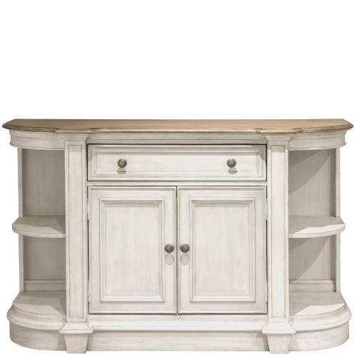 Southport - Sideboard - Smokey White/antique Oak Finish
