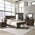 King Panel Bed, Dresser & Mirror, Chest, Night Stand Product Image
