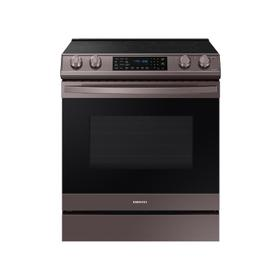 6.3 cu. ft. Front Control Slide-in Electric Range with Air Fry & Wi-Fi in Tuscan Stainless Steel
