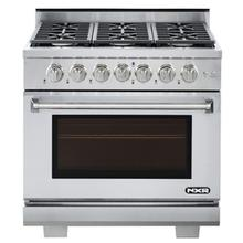 """View Product - NXR 36"""" Professional Range with Six Burners, Convection Oven, Propane Gas (AK3605LP - Culinary Series)"""