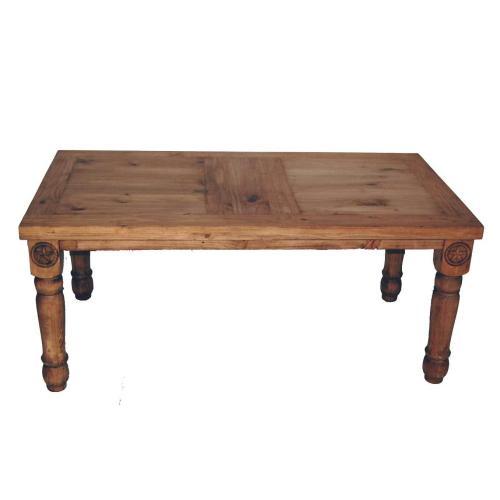 6' Table W/star On Legs