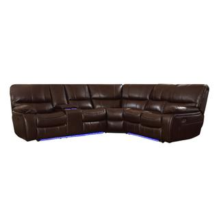 See Details - Power Reclining Sectional w/ Left Console