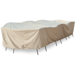 Treasure Garden - Protective Furniture Cover - Extra Large Oval or Rectangle Table and Chairs