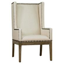 View Product - Tribeca Beige Linen Chair