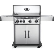 Rogue XT 525 SIB with Infrared Side Burner , Stainless Steel , Propane