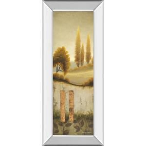 """Beyond The Village"" By Michael Marcon Mirror Framed Print Wall Art"