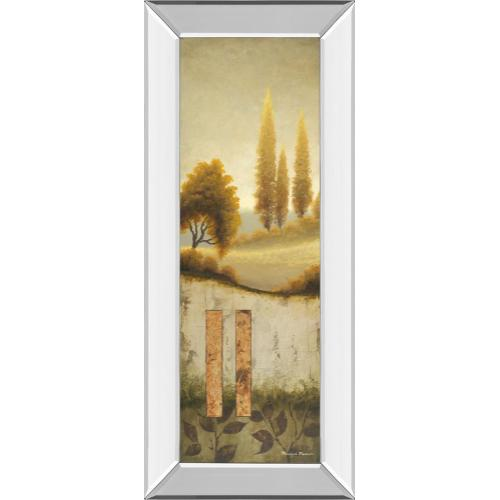 """""""Beyond The Village"""" By Michael Marcon Mirror Framed Print Wall Art"""