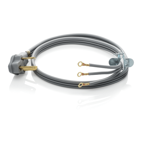 Frigidaire - Smart Choice 4' 30-Amp. 3-Prong Dryer Cord