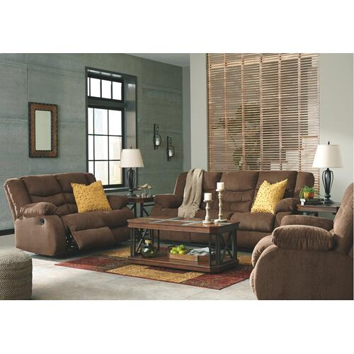 Tulen Brown Reclining Sofa