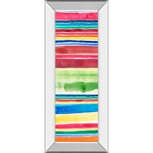"""Cabana Panel Il"" By Regina Moore Mirror Framed Print Wall Art"