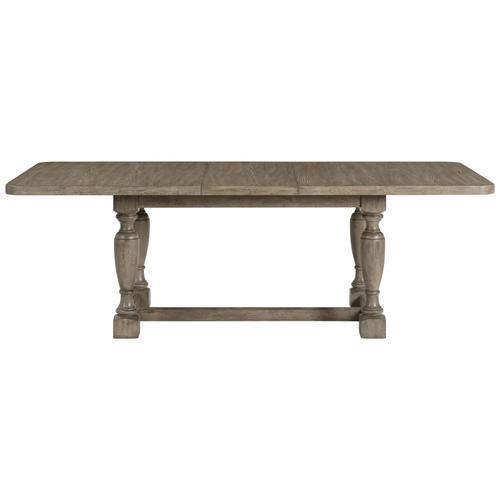 Louis Farmhouse - Trestle Dining Table - Antique Oak Finish