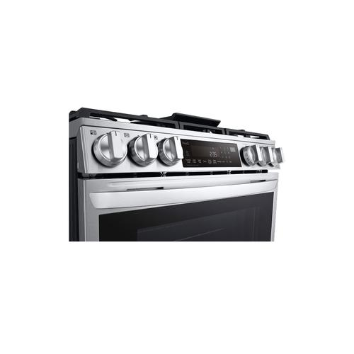 6.3 cu ft. Smart wi-fi Enabled ProBake Convection® InstaView® Gas Slide-In Range with Air Fry