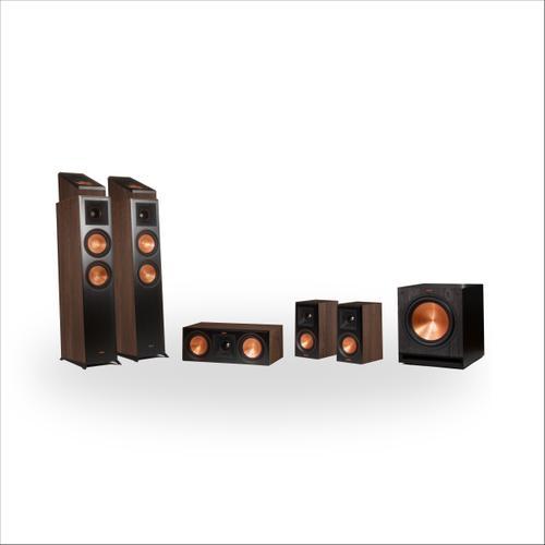 Klipsch - RP-6000F 5.1.2 Dolby Atmos® Home Theater System - Ebony