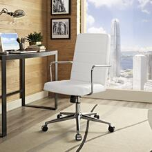 Cavalier Highback Office Chair in White