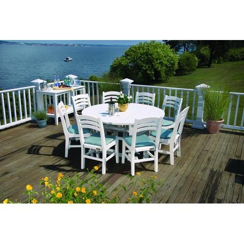 """Seaside Casual - Salem 60"""" Round Dining Table (059)"""