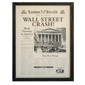 """""""WALL STREET CRASH"""""""
