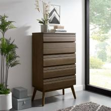 See Details - Everly Wood Chest in Walnut