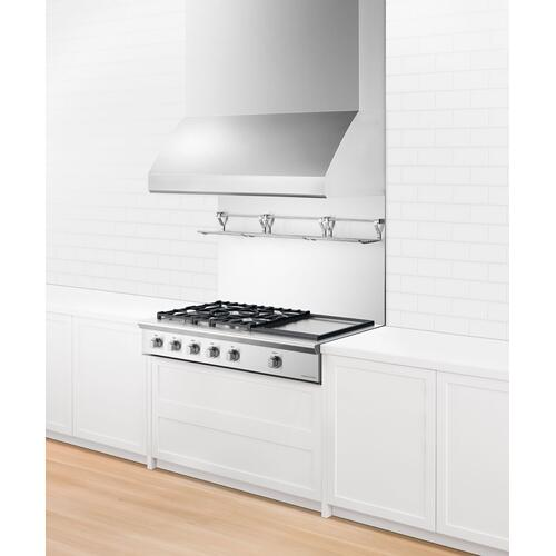 """Fisher & Paykel - Gas Rangetop, 48"""", Griddle"""