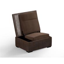 JumpSeat Ottoman, Mushroom Cover / Mocha Seat