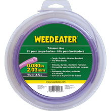 "Weed Eater Trimmer Lines .080"" x 150' Shaped Trimmer Line"
