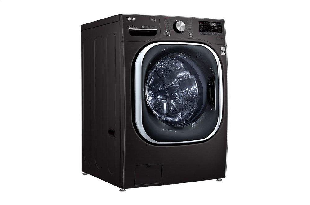 5.0 cu. ft. Mega Capacity Smart wi-fi Enabled Front Load Washer with TurboWash™ 360(degree) and Built-In Intelligence Photo #4