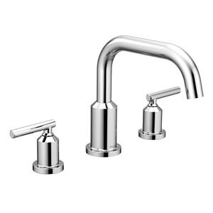 Gibson chrome two-handle roman tub faucet Product Image