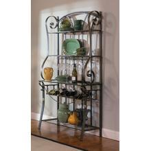 See Details - Bronze Strap Bakers Rack