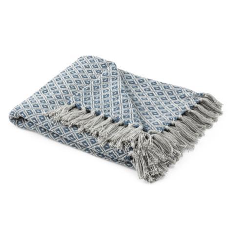 TY Bluebird Handwoven Throw Blanket
