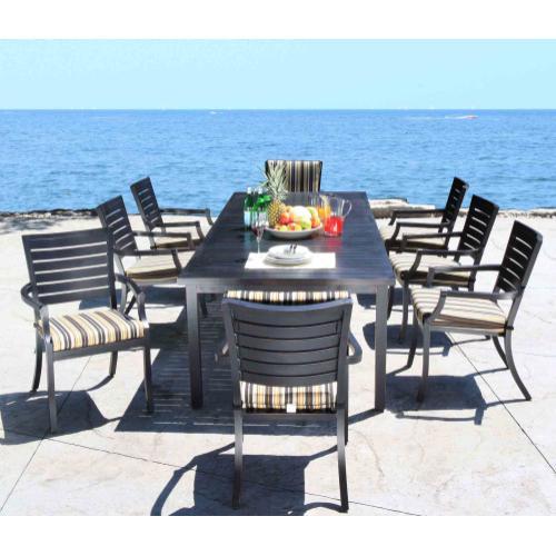 "Monaco 42"" x 72"" to 102"" Extending Dining Table"